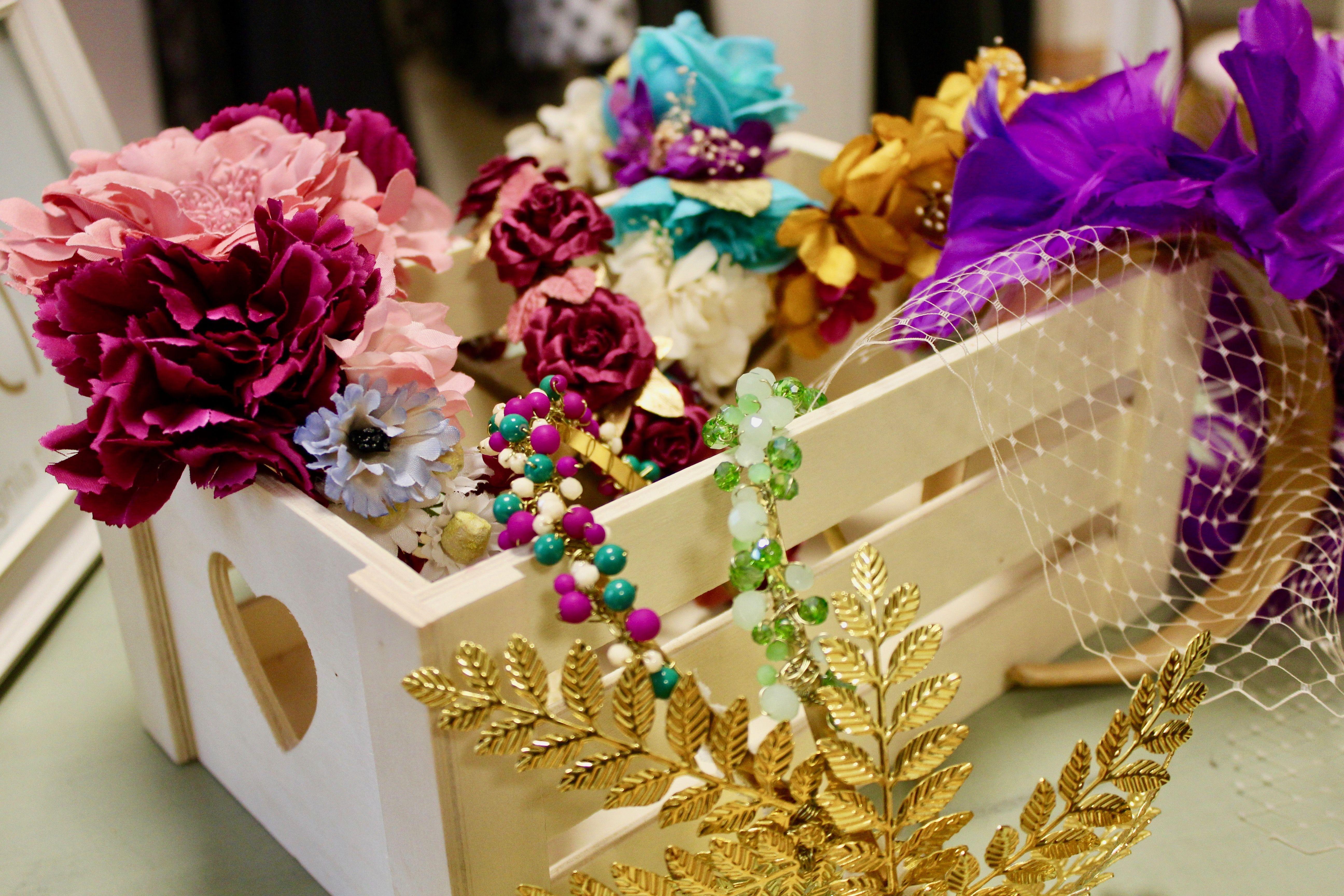 Esther Palma adornos florales