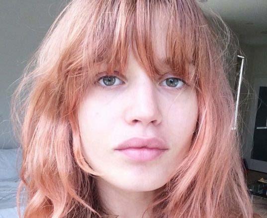 blorange el tono de pelo más viral del momento