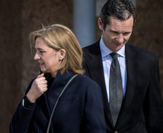 Urdangarín, 6 años y 3 meses de cárcel y la Infanta Cristina, absuelta