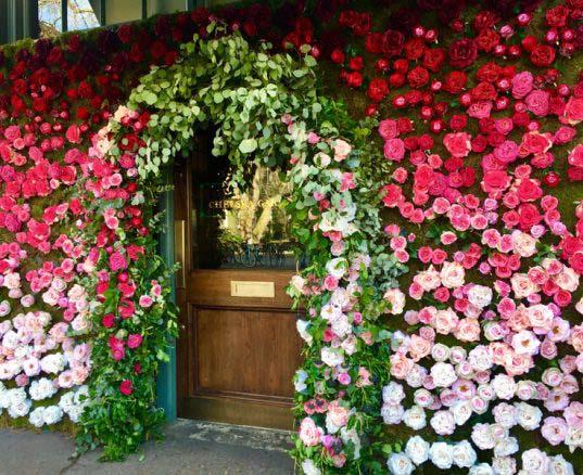 Decora con flores tu entrada