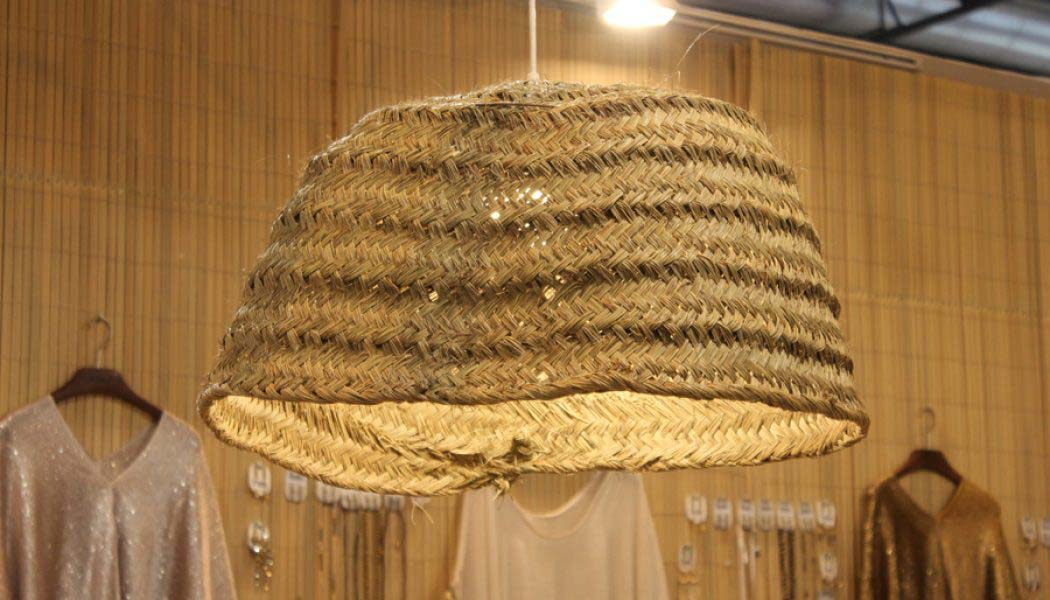 ¿Lámpara o cesta de mimbre?