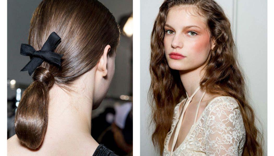 Los peinados más cool de #PFW Paris Fashion Week