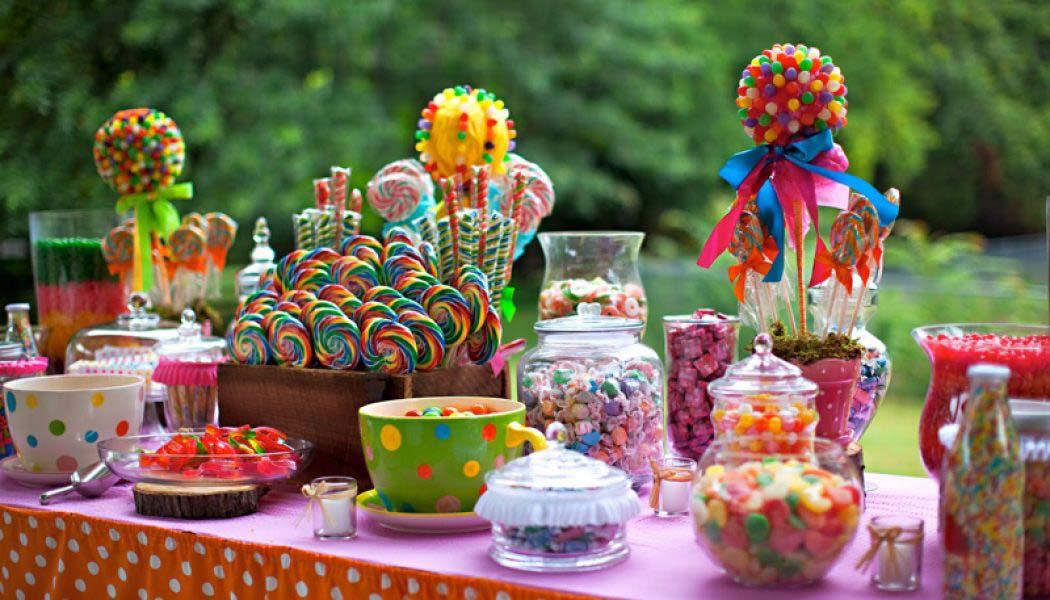 Ideas para decorar con Candy Bar en Comuniones