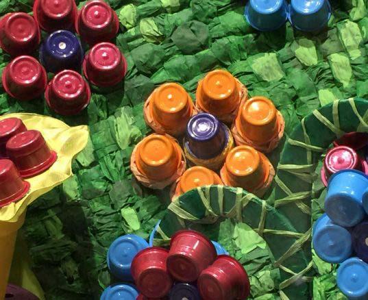 ideasl flash, esther palma comunicacion: decora con capsulas de cafe