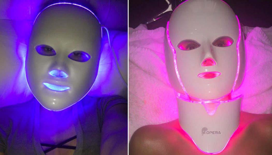 esther palma comunicacion mascara led belleza