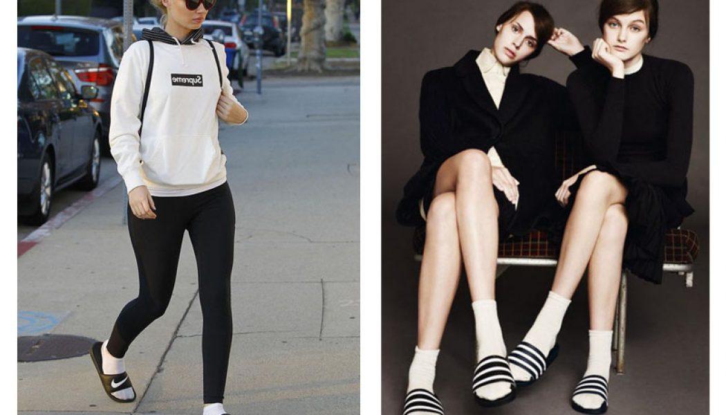 esther palma comunicacion chanclas con calcetines moda