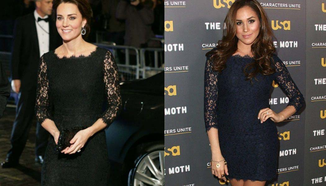 Duelo de cuñadas: Kate Middleton vs Meghan Markle