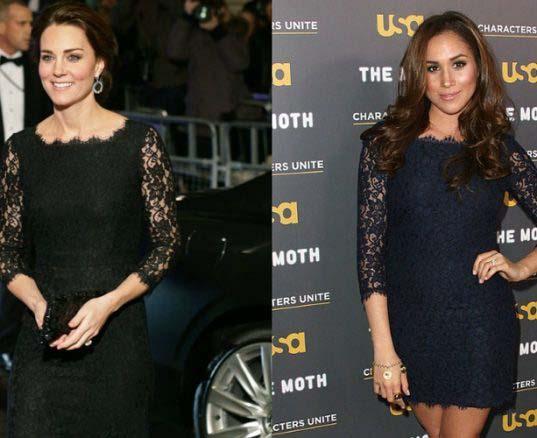 Duelo de cuñadas: Kate Middleton vs Meghan Markle
