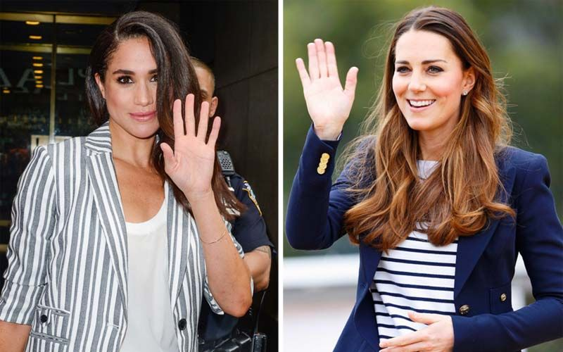 Kate Middleon Meghan Markle