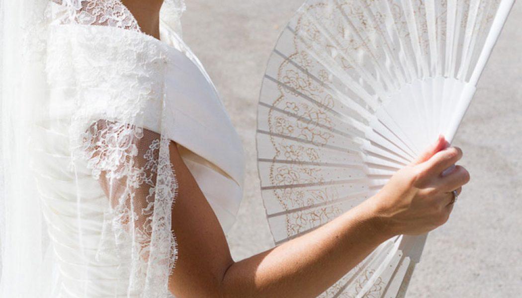 abanico artistico para novias