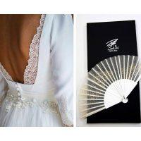 El  abanico: el complemento sensual para boda