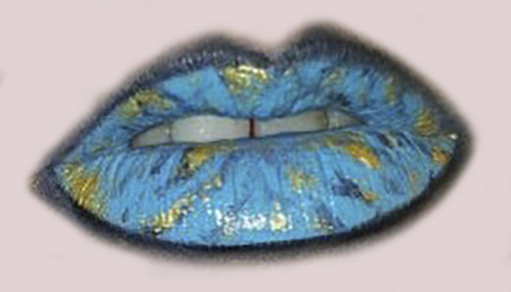 maquillaje labios de marmo