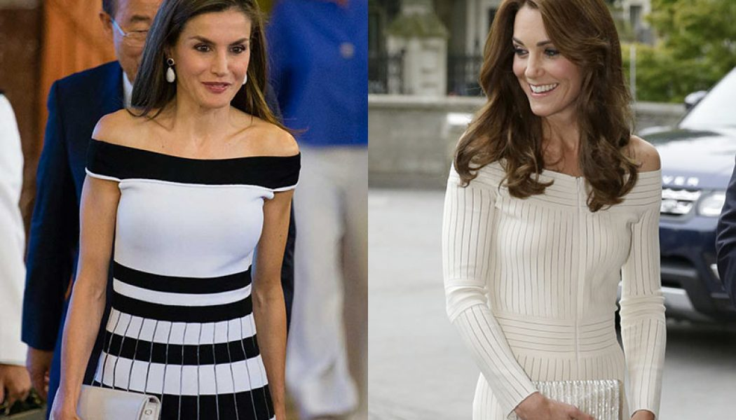 reina letizia kate middleton