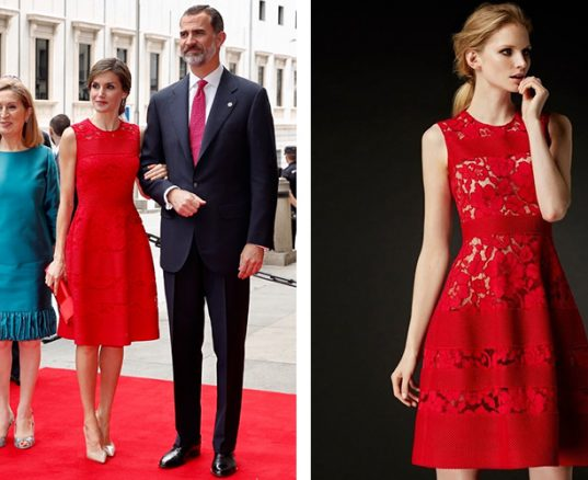 vestido de letizia
