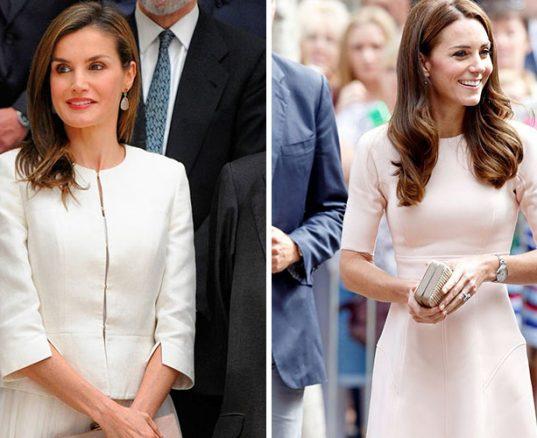 Letizia versus Kate Middleton