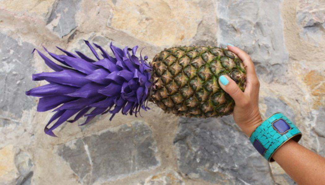 La piña natural está de moda