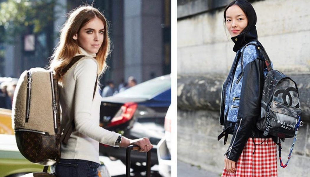 mochilas de moda celebrities