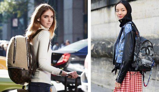 mochilas de moda celebrities