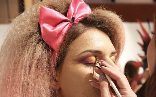 moda selfie campeonatos maquillaje