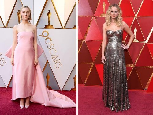 Las mejor vestidas de los oscar 2018