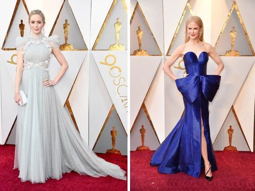 La elegancia de la alfombra roja de los Oscar 2018