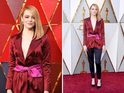 Emma Stone en oscar 2018
