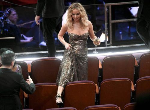 Jennifer Lawrence en oscar 2018