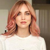 pelo rosa chiara ferragni