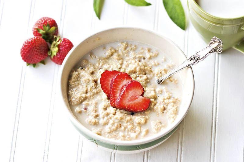 avena porridge desayuno