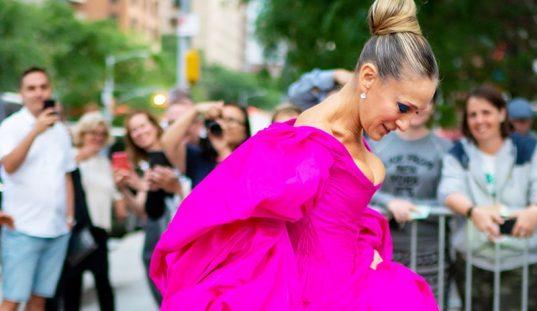 el color rosa y la moda