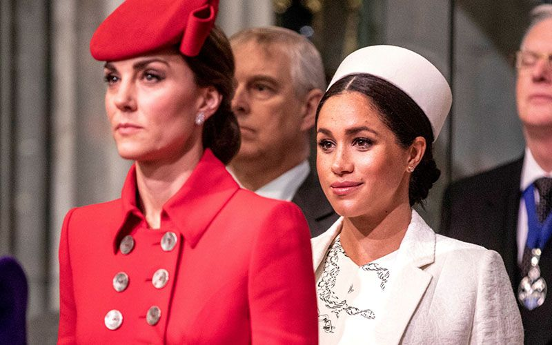 kate Middleton entrevista Meghan Markle